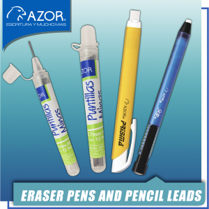 Eraser Pens and Pencil Leads